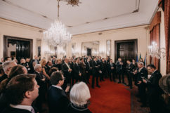 Il New Year's Reception nel segno dei cent'anni della diplomazia italiana in RC