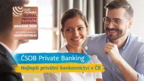 Čsob premiata per il suo private banking